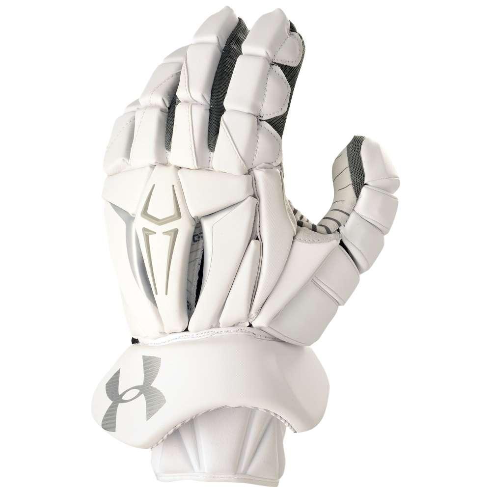 アンダーアーマー メンズ ラクロス グローブ【Command Pro II Glove】White