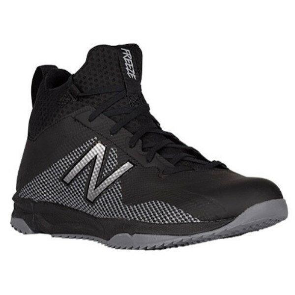 ニューバランス メンズ ラクロス シューズ・靴【FreezeTurf Mid】Black