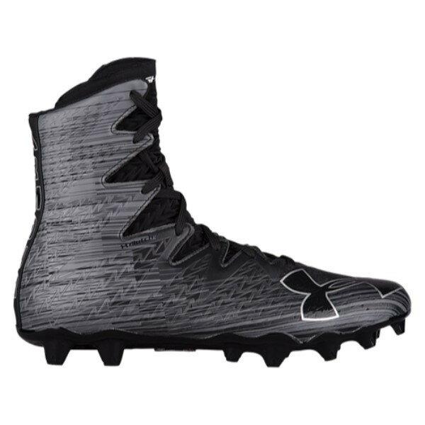 アンダーアーマー メンズ ラクロス シューズ・靴【Lacrosse Highlight MC】Black/Black