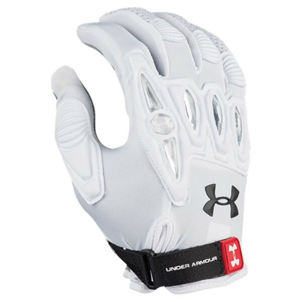 アンダーアーマー レディース ラクロス グローブ【Player 2 Field Glove】White