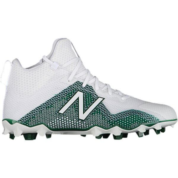 ニューバランス メンズ ラクロス シューズ・靴【Freeze】White/Green