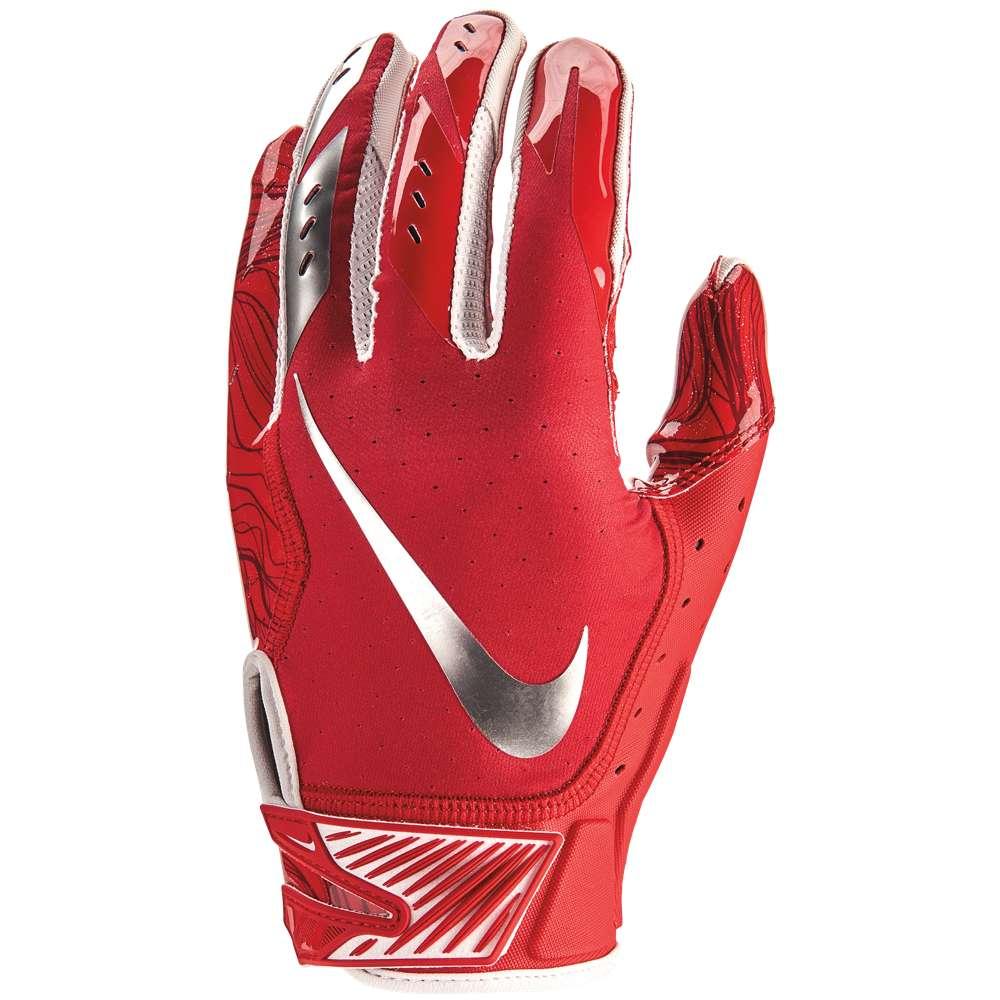 ナイキ メンズ アメリカンフットボール グローブ【Vapor Jet 5.0 Football Gloves】University Red/University Red/Chrome