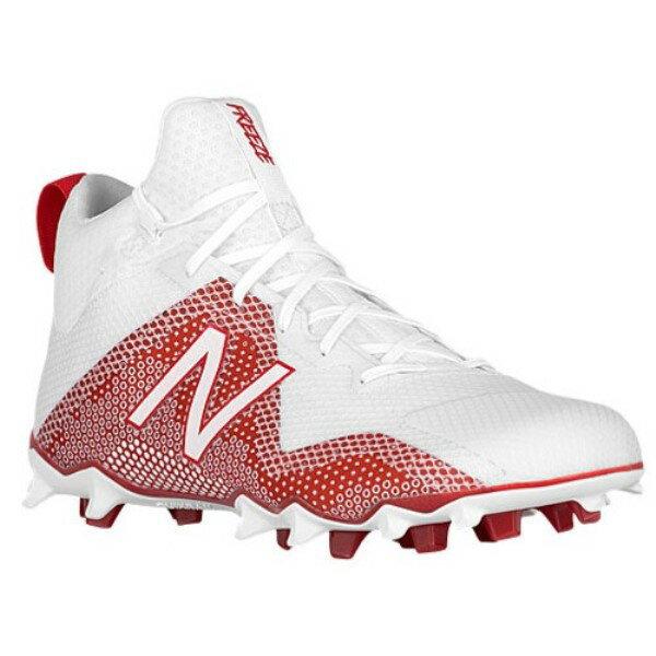 ニューバランス メンズ ラクロス シューズ・靴【Freeze】White/Red