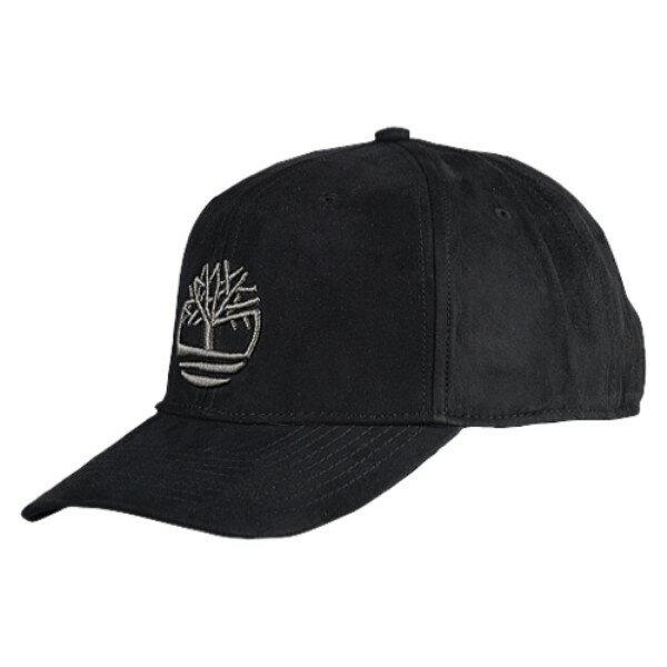 ティンバーランド メンズ 帽子 キャップ【Faux Suede Baseball Cap】Black