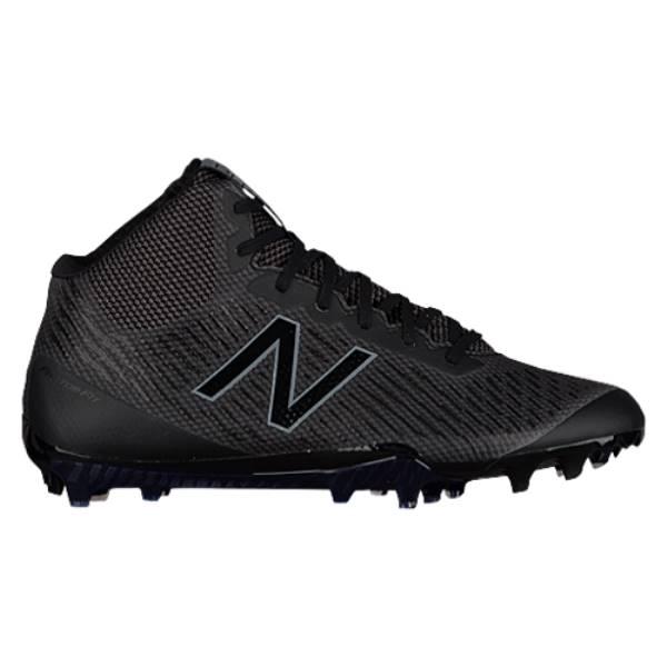 ニューバランス メンズ ラクロス シューズ・靴【Burn X MID】Black