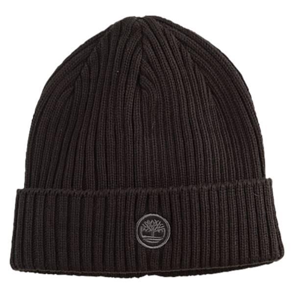 ティンバーランド メンズ 帽子 ニット【Fitted Knit Watchcap】Black