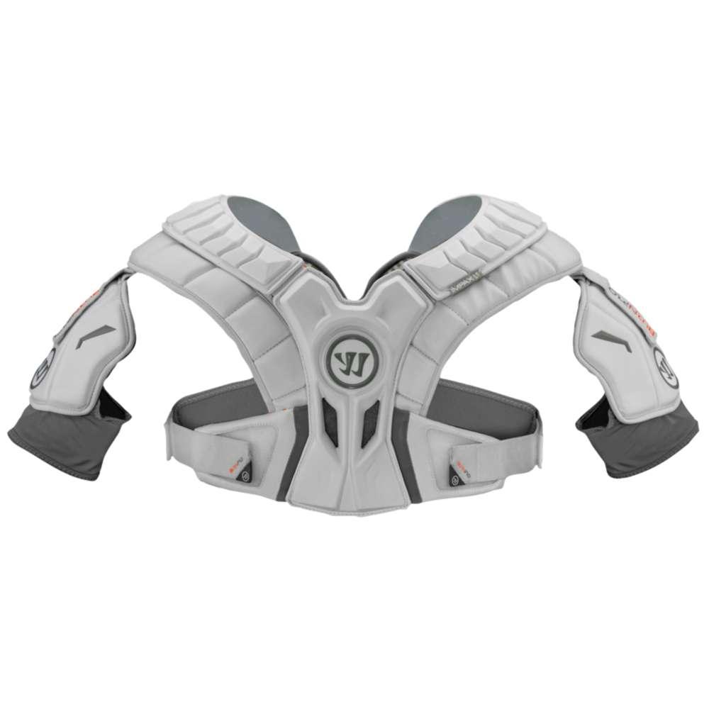 ウォーリアー メンズ ラクロス プロテクター【Burn Pro Hitlyte Shoulder Pad】White
