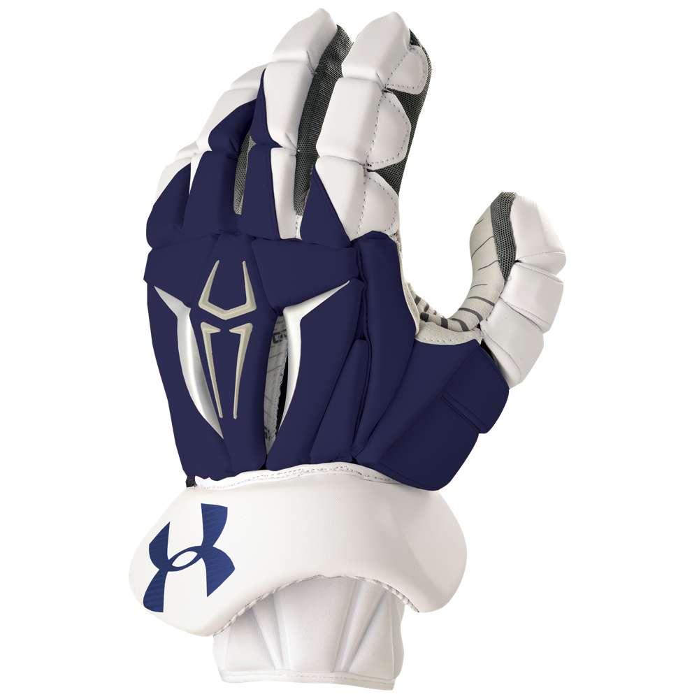 アンダーアーマー Under Armour メンズ ラクロス グローブ【Command Pro II Glove】Navy