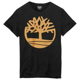 ティンバーランド Timberland メンズ トップス Tシャツ【Basic Tree T-Shirt】Black/Wheat