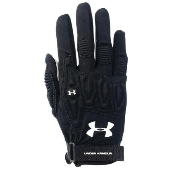 アンダーアーマー Under Armour レディース ラクロス グローブ【Illusion Field Glove】Black