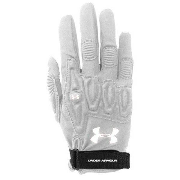 アンダーアーマー Under Armour レディース ラクロス グローブ【Illusion Field Glove】White