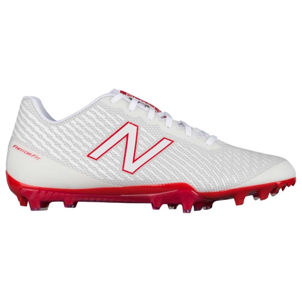 ニューバランス New Balance メンズ ラクロス シューズ・靴【Burn X Low】White/Red