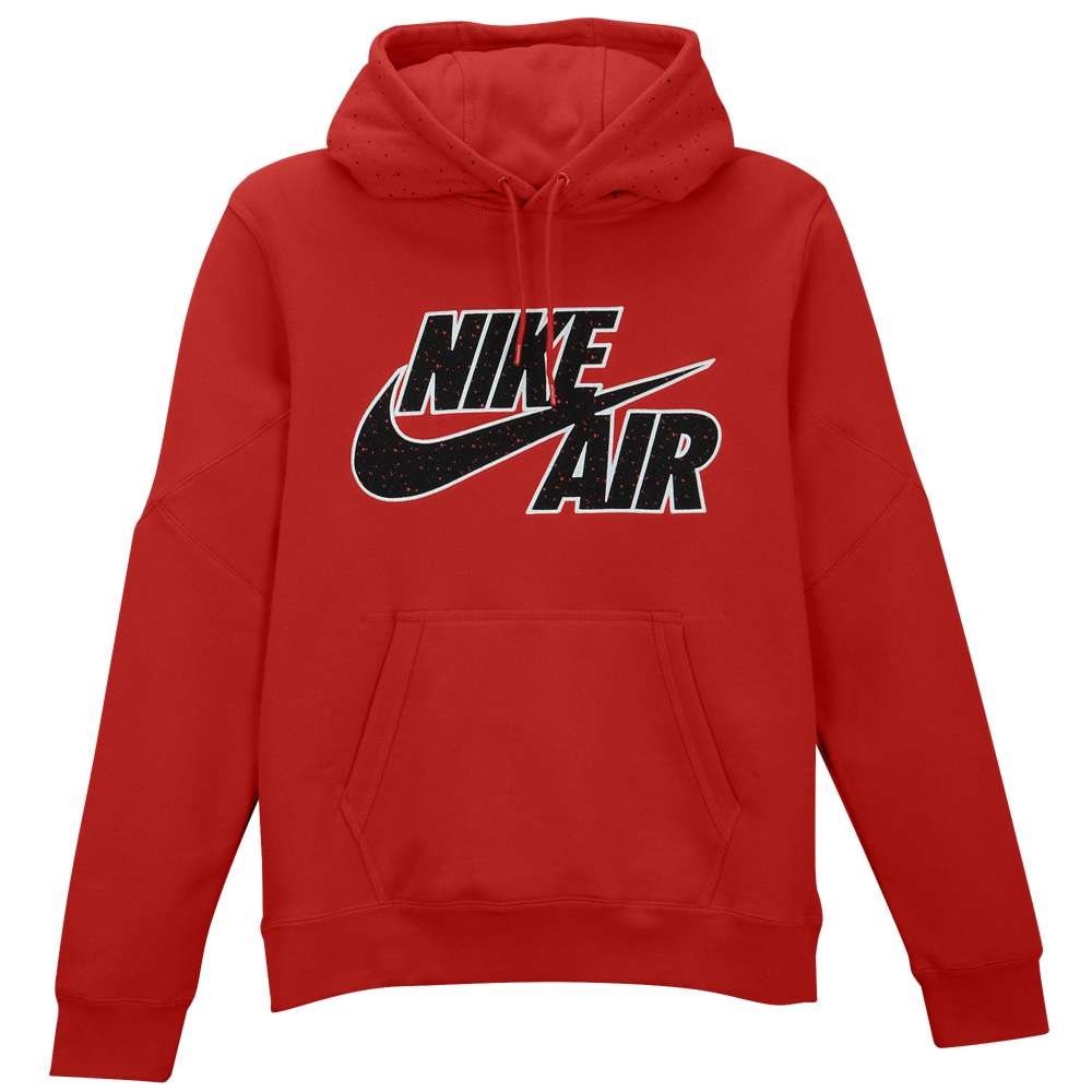ナイキ Nike メンズ トップス パーカー【BB Pivot Splatter Print Fleece Hoodie】Gym Red