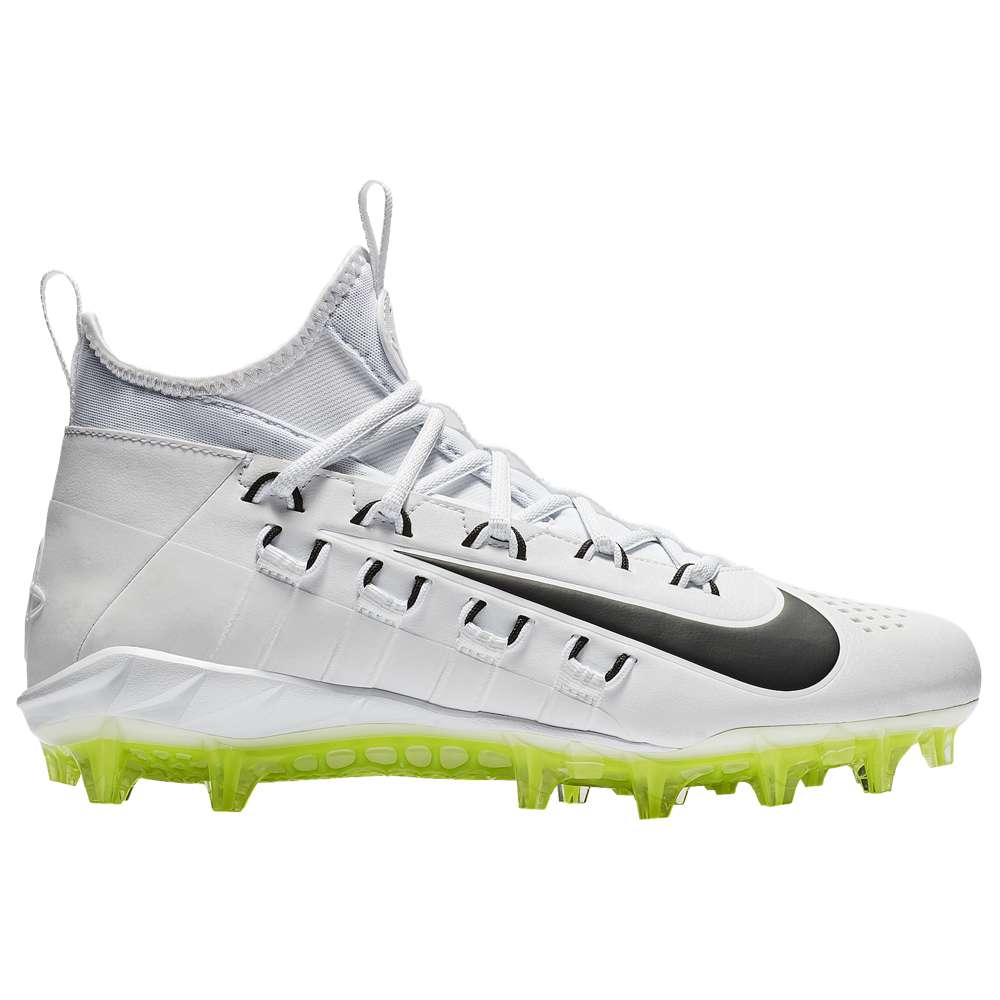 ナイキ Nike メンズ ラクロス シューズ・靴【Alpha Huarache 6 Elite LAX】White/White/Black/Volt
