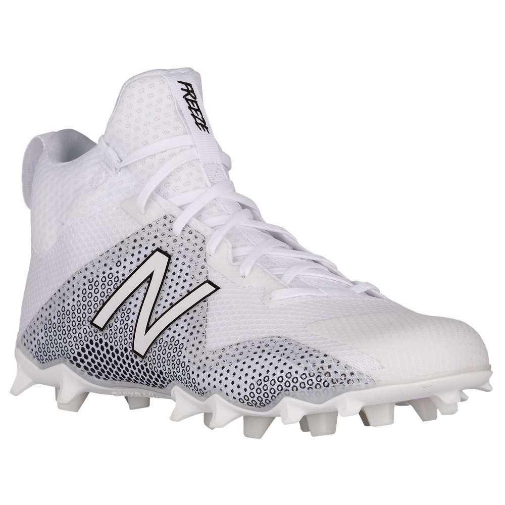 ニューバランス New Balance メンズ ラクロス シューズ・靴【Freeze】White/Black