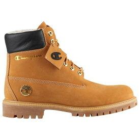 """ティンバーランド Timberland メンズ シューズ・靴 ブーツ【x Champion 6"""" Shearling Boots】Wheat"""