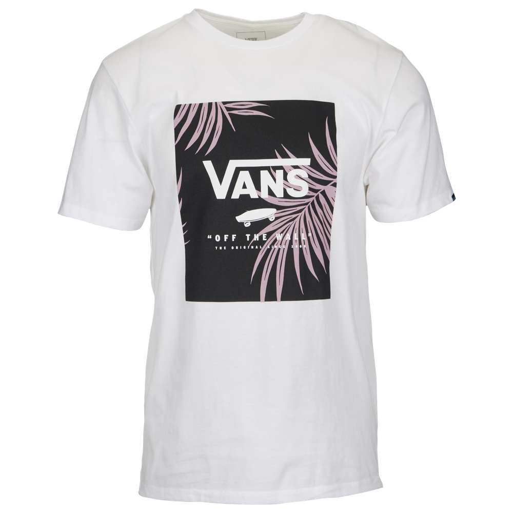 ヴァンズ Vans メンズ トップス Tシャツ【Print Box Short Sleeve T-Shirt】White/Peace Leaf Floral