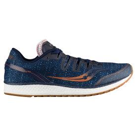 サッカニー Saucony メンズ ランニング・ウォーキング シューズ・靴【Freedom ISO】Navy/Denim/Copper Denim Pack