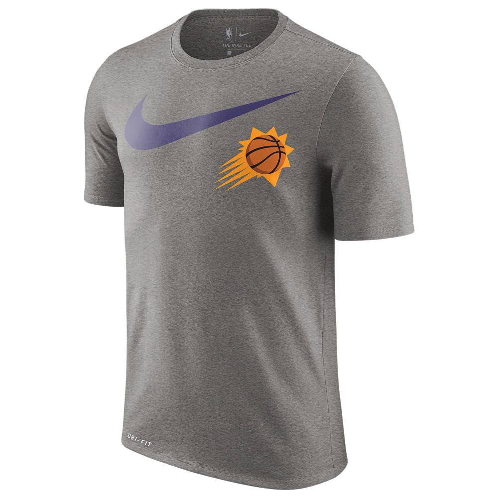 ナイキ Nike メンズ トップス Tシャツ【NBA Swoosh Team Logo T-Shirt】NBA Phoenix Suns Dark Grey Heather