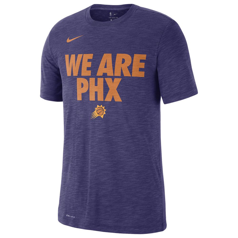 ナイキ Nike メンズ トップス Tシャツ【NBA Local Verbiage T-Shirt】NBA Phoenix Suns New Orchid