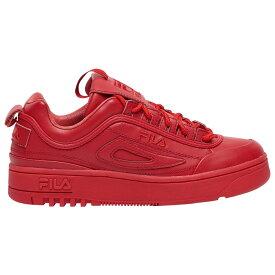 フィラ Fila レディース シューズ・靴 スニーカー【Disruptor II x FX-100 Lux】Red/Red/Red