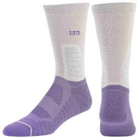 プーマ PUMA メンズ バスケットボール【Court Three Crew Socks】Grey/Purple