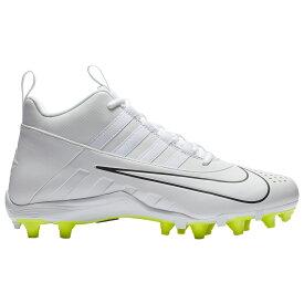 ナイキ Nike メンズ ラクロス シューズ・靴【alpha huarache 6 varsity lax】White/White/Black/Volt