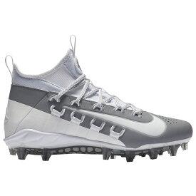 ナイキ Nike メンズ ラクロス シューズ・靴【alpha huarache 6 elite lax】White/White/Cool Grey/Wolf Grey