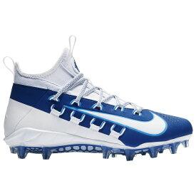 ナイキ Nike メンズ ラクロス シューズ・靴【alpha huarache 6 elite lax】White/White/Gym Blue/Photo Blue