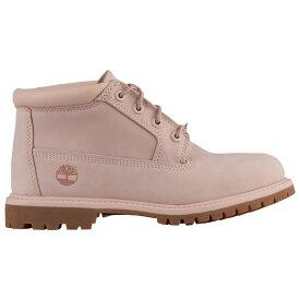ティンバーランド Timberland レディース ブーツ シューズ・靴【nellie】Light Pink Nubuck