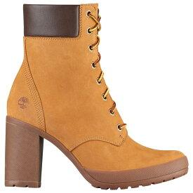 """ティンバーランド Timberland レディース ブーツ シューズ・靴【camdale 6"""" boots】Wheat Nubuck"""