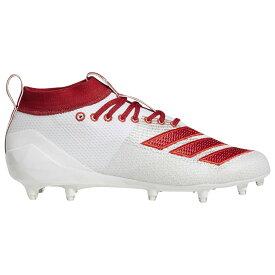 アディダス adidas メンズ アメリカンフットボール シューズ・靴【adizero 8.0】White/Power Red