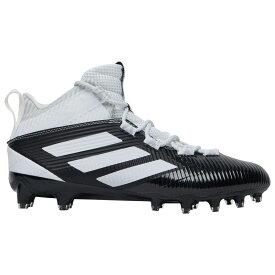 アディダス adidas メンズ アメリカンフットボール シューズ・靴【freak carbon mid】Core Black/White