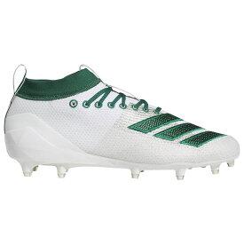 アディダス adidas メンズ アメリカンフットボール シューズ・靴【adizero 8.0】White/Dark Green