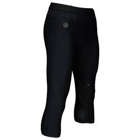 アンダーアーマー Under Armour メンズ フィットネス・トレーニング タイツ・スパッツ ボトムス・パンツ【rush compression 3/4 leggings】Black/Black
