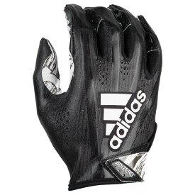アディダス adidas メンズ アメリカンフットボール レシーバーグローブ グローブ【adizero 5-star 7.0 receiver glove】Black/Metallic White/Speed Of Light Speed of Light
