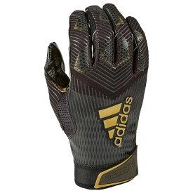 アディダス adidas メンズ アメリカンフットボール レシーバーグローブ グローブ【adizero 5-star 8.0 receiver glove】Black/Black/Metallic Gold