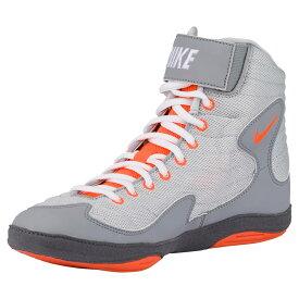 ナイキ Nike メンズ レスリング シューズ・靴【inflict 3】Pure Platinum/Total Orange/Stealth/Dark Grey