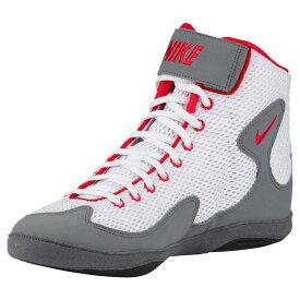 ナイキ Nike メンズ レスリング シューズ・靴【inflict 3】White/University Red/Cool Grey/Black