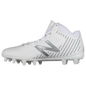 ニューバランス New Balance メンズ ラクロス シューズ・靴【rush mid】White