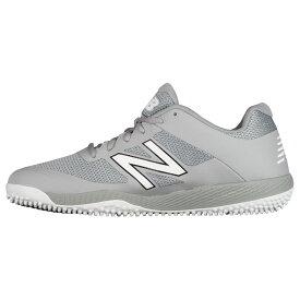 ニューバランス New Balance メンズ 野球 シューズ・靴【4040v4 turf】Grey/Grey