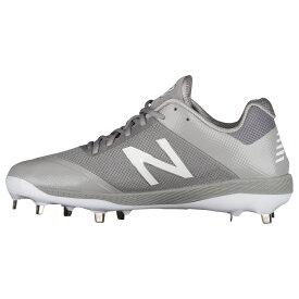 ニューバランス New Balance メンズ 野球 シューズ・靴【4040v4 metal low】Grey/Grey