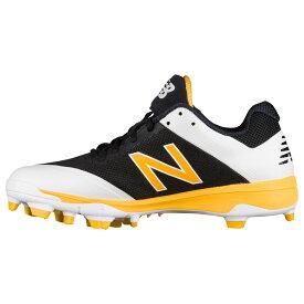 ニューバランス New Balance メンズ 野球 シューズ・靴【4040v4 tpu low】Black/Yellow