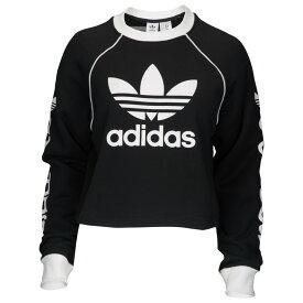 アディダス adidas Originals レディース トップス 【winter ease crew】Black/White