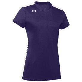 アンダーアーマー Under Armour レディース バレーボール トップス【team endless power s/s jersey】Purple/White
