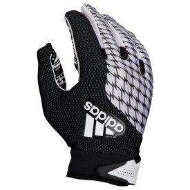 アディダス adidas メンズ アメリカンフットボール レシーバーグローブ グローブ【adifast 2.0 receiver gloves】White/Black