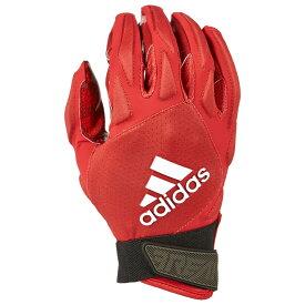 アディダス adidas メンズ アメリカンフットボール レシーバーグローブ グローブ【freak 4.0 padded receiver glove】Red