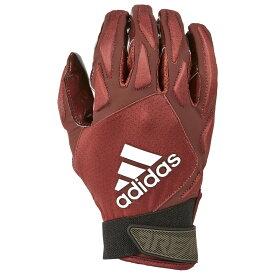 アディダス adidas メンズ アメリカンフットボール レシーバーグローブ グローブ【freak 4.0 padded receiver glove】Maroon