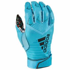 アディダス adidas メンズ アメリカンフットボール レシーバーグローブ グローブ【adizero 5-star 8.0 receiver glove】Blue All American