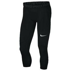 ナイキ Nike メンズ フィットネス・トレーニング タイツ・スパッツ ボトムス・パンツ【pro 3/4 compression tights】Black/Anthracite/White
